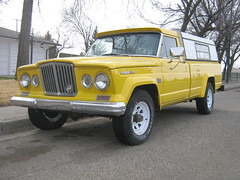 Jeep Gladiator J300 (dave_7) Tags: classic yellow truck jeep lethbridge gladiator j300 jseries gcar 3car