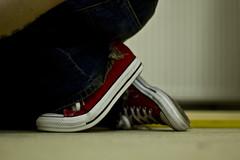 17th April 08 (Diamond Footprint) Tags: red converse 08 365days ysplix