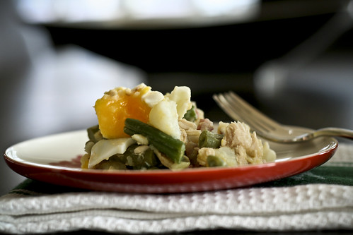 dijon potato & green bean salad