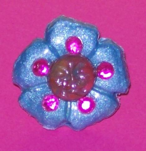 Blue & Pink Petal Baby Ring