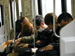 Zzzzzz (SBA73) Tags: japan train tren japanese tokyo honeymoon metro sleep dream jr nippon 東京 asleep dormir nihon rodalies japó tokio cercanias japón cansancio roncar japonesos viatgedenoces cansament thechallengefactory