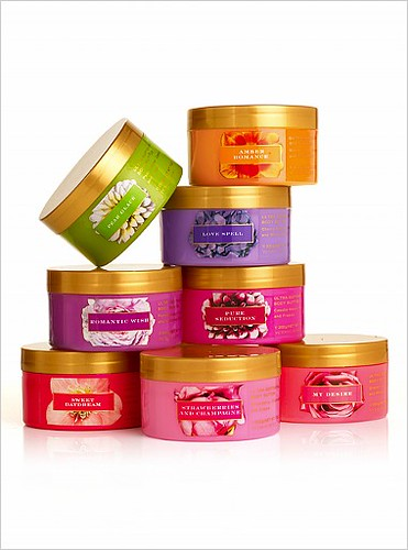 victoria secret garden body butter love spell