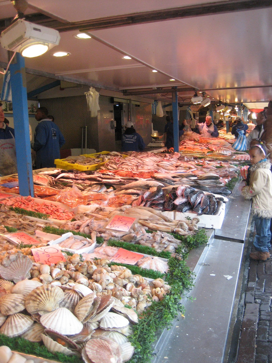 Haagse Markt Fish Stalls