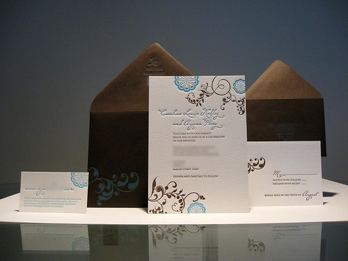 Turquoise And Brown Wedding Invitations: Clodagh's Blog: The Jars 39 Labels Double As Table