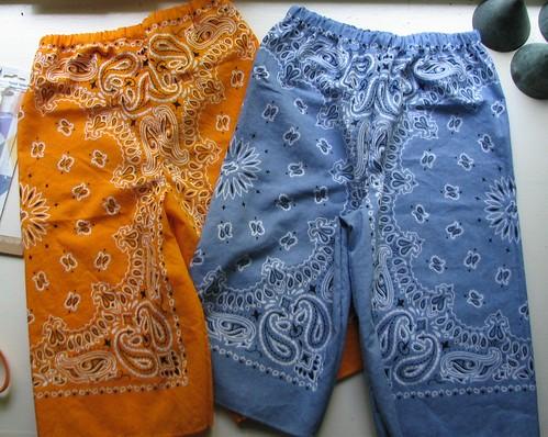More bandana pants