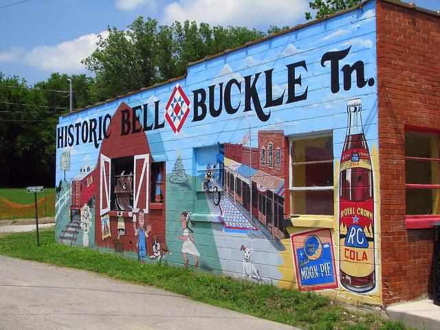Bell Buckle, TN full mural
