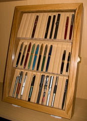 pen display case pens fountainpens