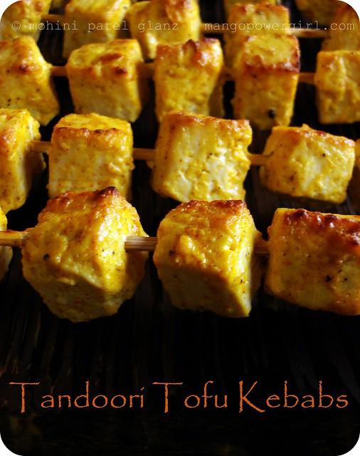 tandoori tofu kebabs