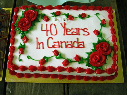 40 years in canada