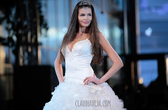 fashion night out (claudiaveja) Tags: show blue white beautiful fashion photography model pretty dress princess modeling stock images monica stunning concept transylvania cluj royaltyfree rightsmanaged gorgeos claudiaveja columbeanu canoneos1dsmarkiii 1ds3 rightmanaged