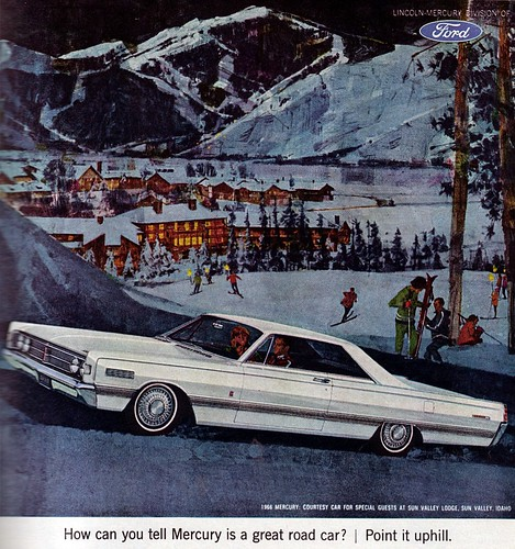 1965 True mag Mercury ad