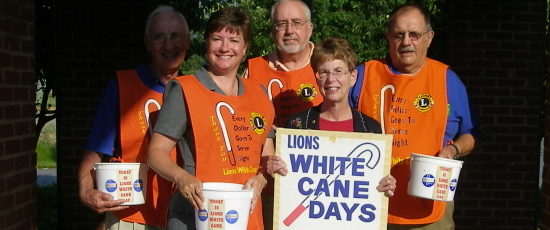 Manheim Township Lions White Cane Days