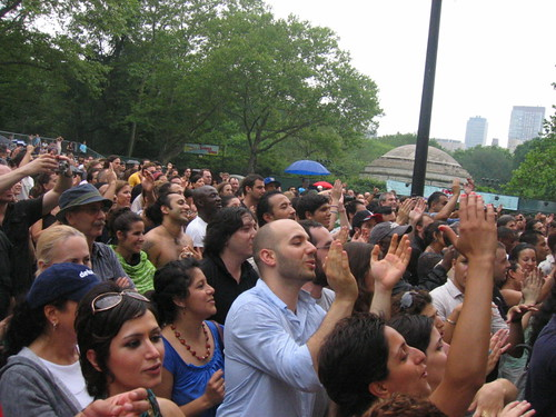 Crowd at Summerstage