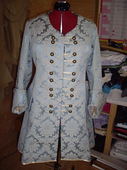 Jenny's Pirate coat - now with buttons!