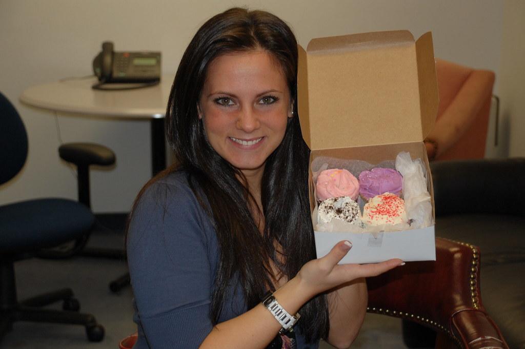 Melissa, cupcake interviewee