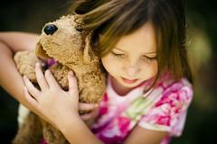 freckles (-Angela) Tags: girl childhood kid child eyelashes sweet cuddle doggy freckles 2008 6yrsold kidsworld childsworld herfavoriteanimala1stbdaygift