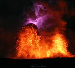 Lava Blast and Electric Lightning Bolt Within Moonlit Lava Plume #1 (SparkyLeigh) Tags: wow spectacular ash blast naturesfireworks volcanohawaii lavaplumehawaii massivelavaplume explosivelavasea leighhilbertlavaphotos stunninglavaphotos amazinglavaphotos lavaplumenightmoonlit leighhilbertlavaphotography moltenlavablast lavaplume lavaflashexplosiveplumemagma sulfurdioxideplume glassexplosive staticbolt lightningbolt volcanolightning surreallava unbelievablephotos lightninglavabolt lavaplumeelectricity electriclava lavaoceanplumeexplosive moonlitlavaplume moltenredlava