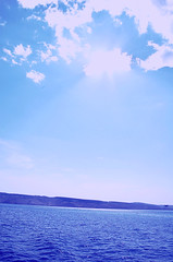 Only when we are no longer afraid we begin to live~ (Tja'Sha) Tags: blue sea summer sky sun clouds croatia dreams islandpag