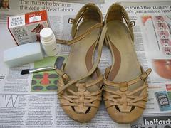 Sapato vermelho {1}
