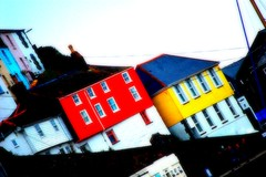 alTerED iMaGE : Melon & lemon harbour houses