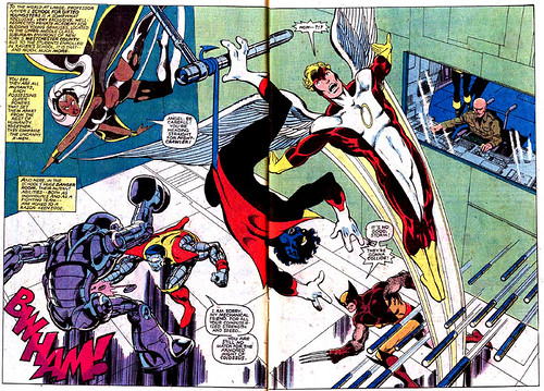Double-page spread from Uncanny X-Men #139, by John Byrne