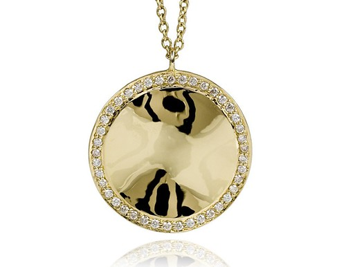 ippolita gold and diamond pendant