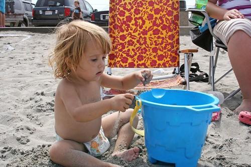 Lani's sand castle