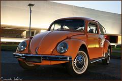 Fusca 1972 (Conrado Saltini) Tags: brasil vw sedan bug ar air curitiba preta boxer parana 1972 placa 1500 fusca cooled