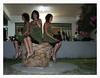 Tre Vanne nel peggiore dei bar di Caracas (Newbrigand) Tags: bar fun twins funny mare tequila photomontage puglia spiaggia gemelle fotomontaggi manfredonia allucinazioni sudore allucinazione newbrigandblog scalodeisaraceni
