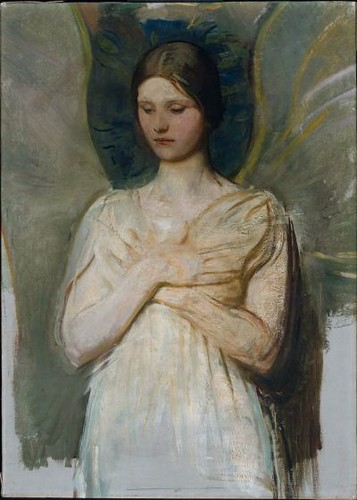 An angel, Abbott H Thayer by Painter's Reference