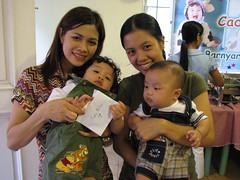 With Tita Janice and the Bday Boy, Cade.
