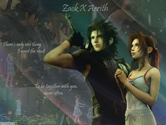 zack and Aerith (sinhthuylong) Tags: ffvii cloudstrife aerithgainsborough crisiscore zackfair