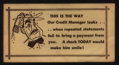 The Way our Credit Manager looks Late Payment ...
