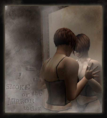 smoke and mirrors by Katiya Rhode, on Flickr
