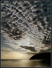 Quilt of light (ccgd) Tags: clouds sunrise scotland highlands august explore cromarty sutor gloaming flickrlovers