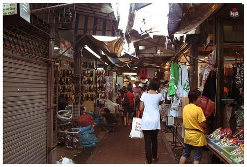 flea market street