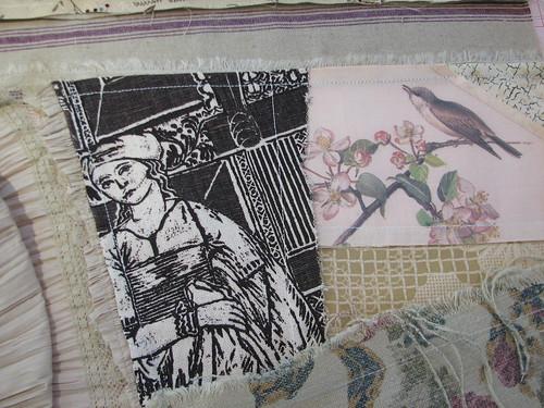 cherished bits of forgotten fabrics