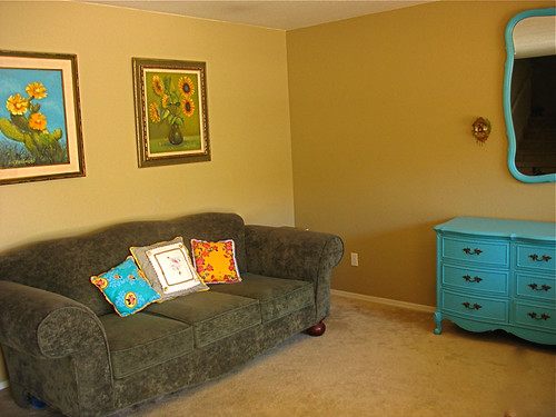 refreshed living room