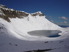 Lake below Pluderling-Sattel