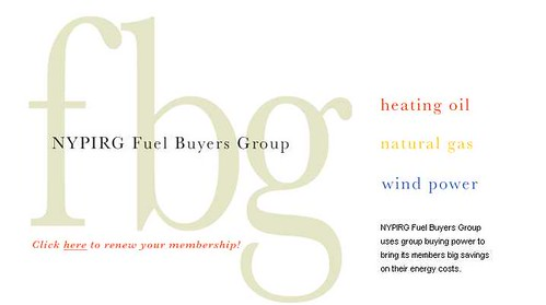 NYPIRG Fuel Buyers Club by you.