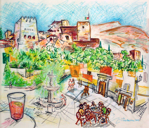 A Day in Granada with Tinto Verrano
