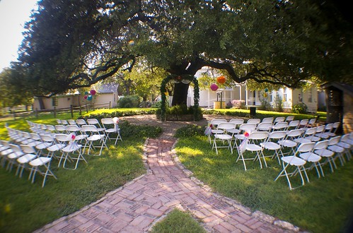 the site of the ceremony