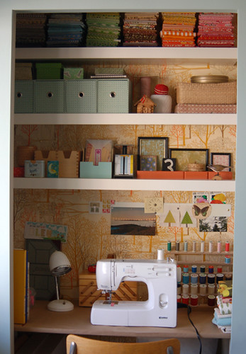 sewing space / lovelydesign