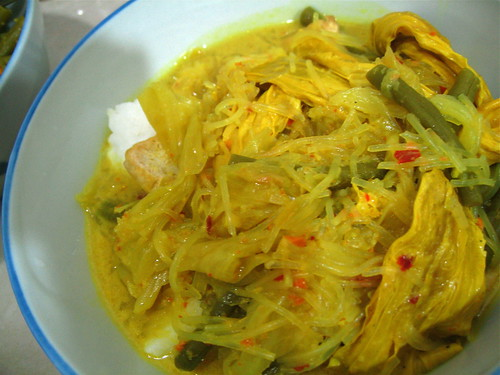 Foreplay of the Sensesrecipe is lontong sayur lodeh