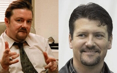 Twins: Ricky Gervais + Todd Palin