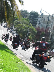 Hell's Angels Funeral Procession