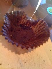Eaten Sprinkles Cupcake