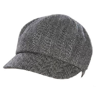 Tweed Newsboy Hat - Accessories - Mens - Armani Exchange