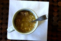 Beef, Leek and Barley Soup