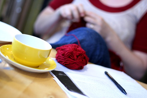 Afternoon Tea & Knitting